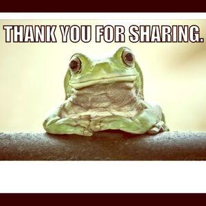 I love to share 💕💕💕